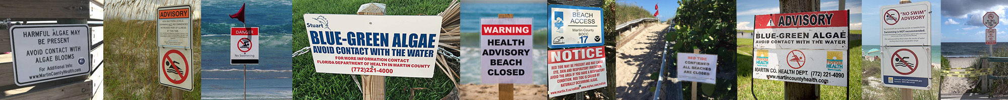 Look for these signs when visiting our beaches to know if it safe to swim.