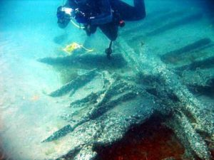Dive Site - Wreck of Georges Valentine