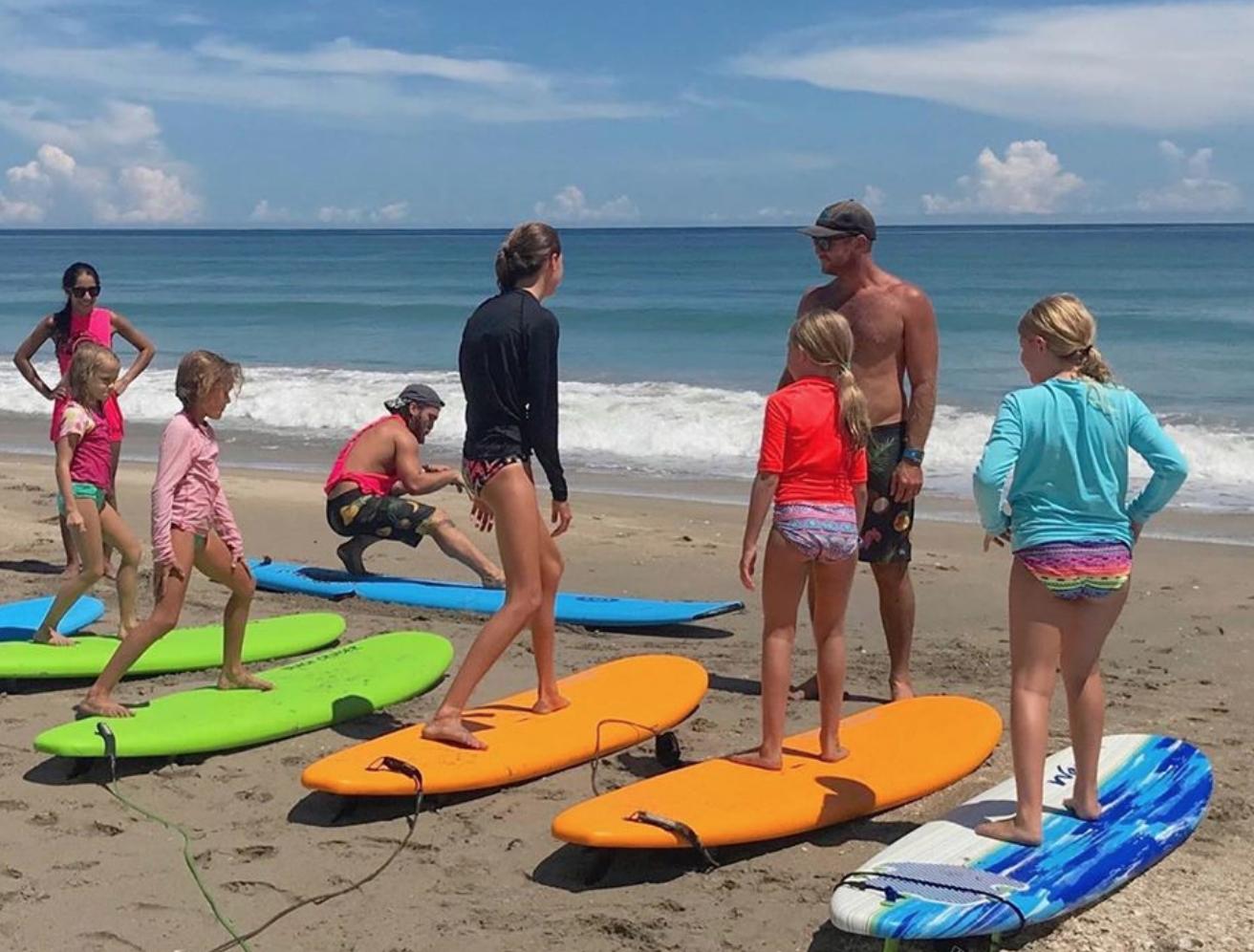 Cowabunga Surf Lessons Stuart Florida