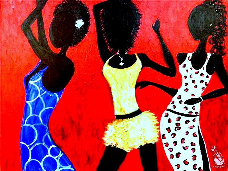 Girlfriends party martin county for Painting with a twist locations near me