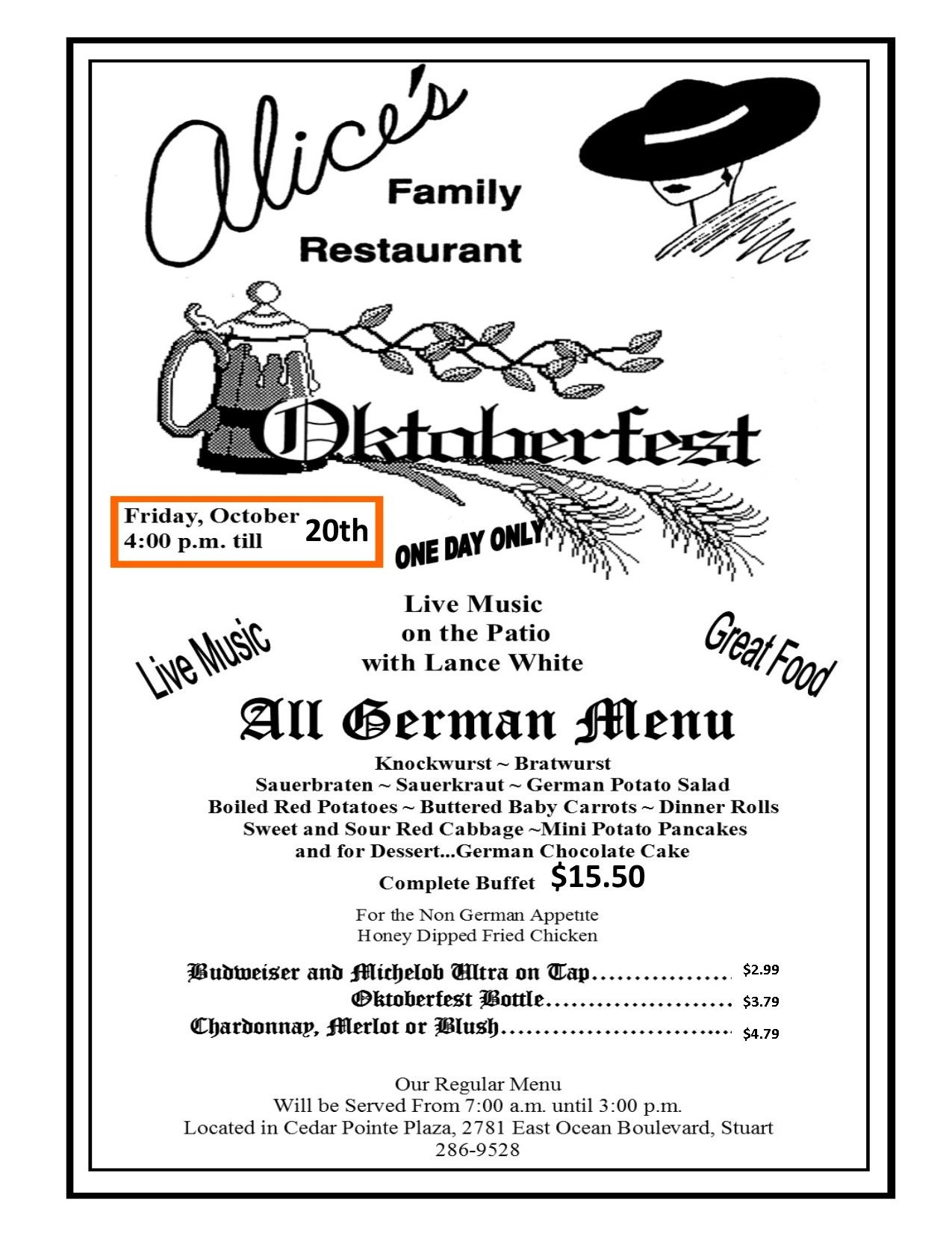 Alice S Restaurant Stuart Fl