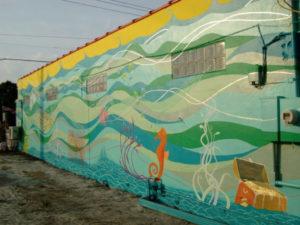 Flash Beach Grille Hobe Sound Florida Murals
