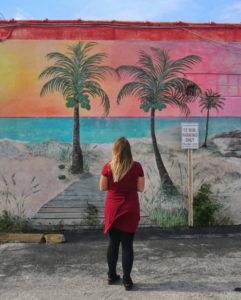 Island Beverage Mural Hobe Sound Florida