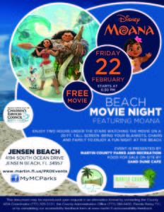 Beach Movie Night