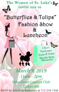 Butterflies & Tulips Fashion Show & Luncheon