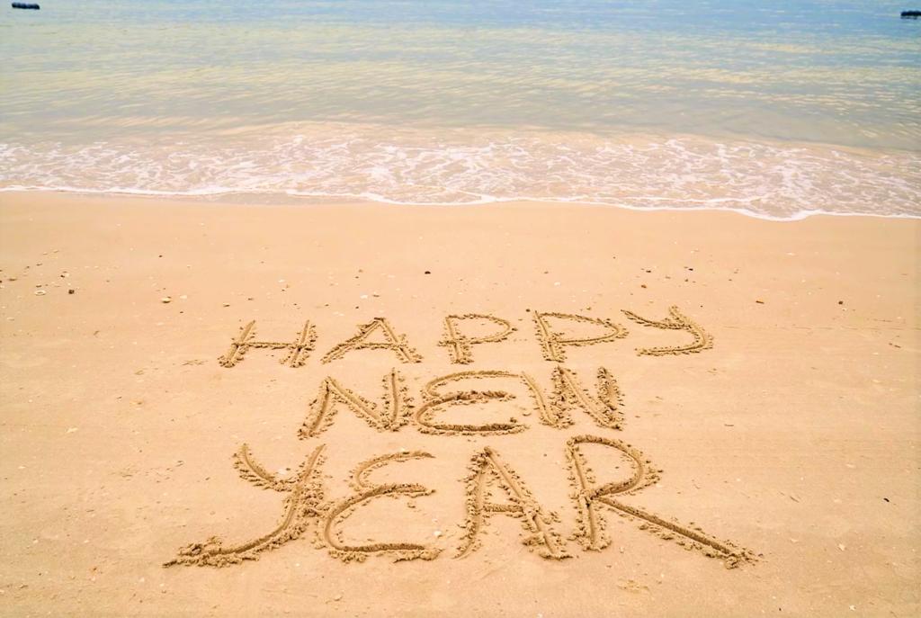 Martin County Beach New Year