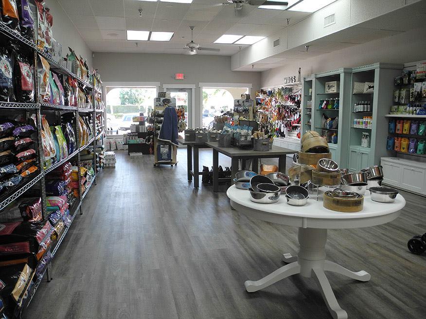 The interior of Wagnolia's pet boutique.