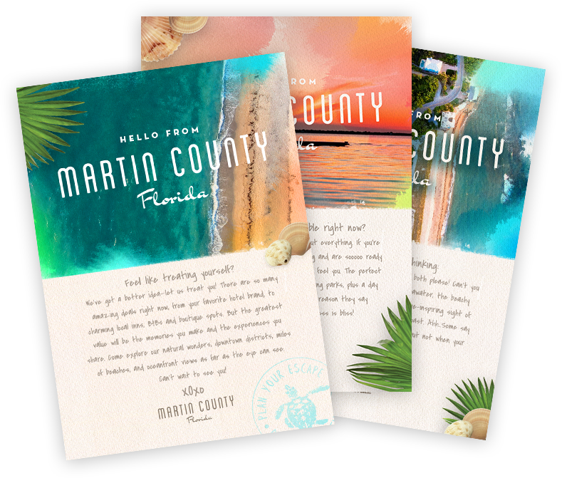 Martin County Postcards