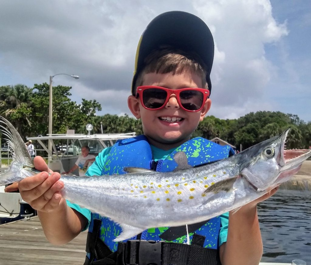 Dylan Gaines, 7, of Port Salerno