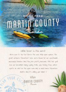 Cabin Fever Postcard Design