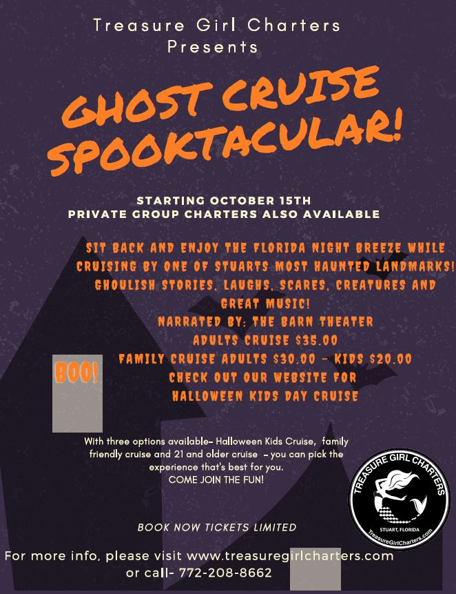 Ghost Cruise Spooktacular