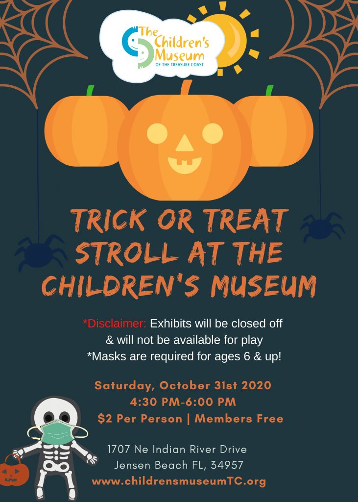 Trick or Treat Stroll at the Children's Museum