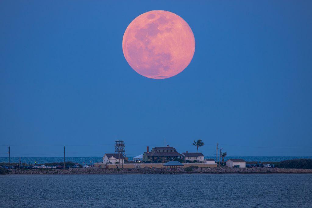 Full Moon over the House of Refuge