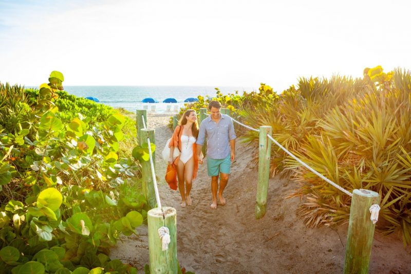Martin County Couple at Beach