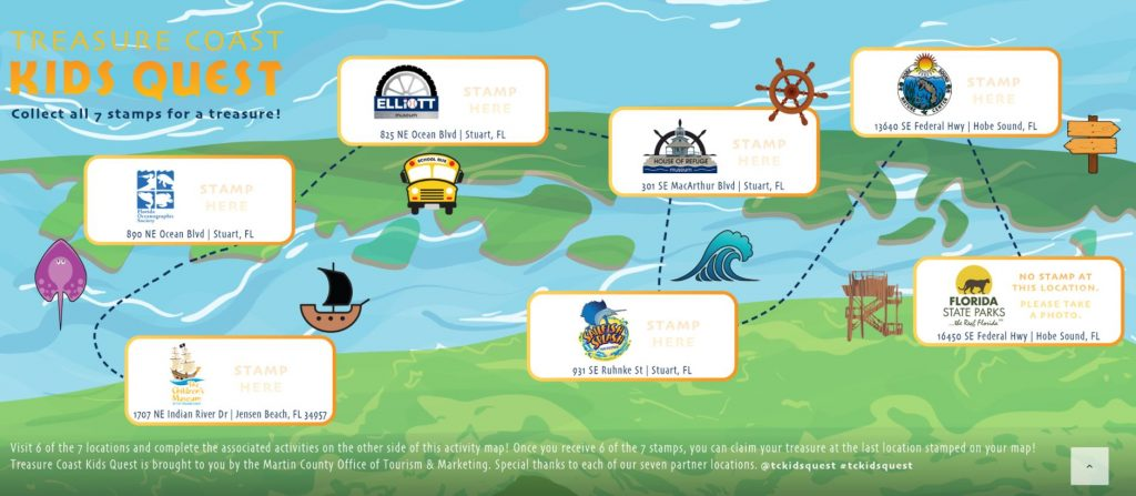 Treasure Coast Kids Quest - Activity Passport