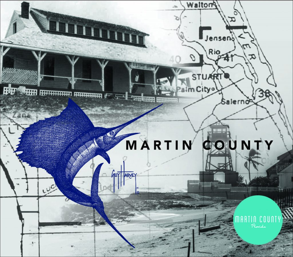 Historic Image of Martin County featuring Sailfish and the House of Refuge
